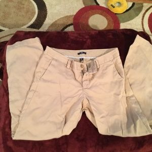 Gap chino pants tan size 6